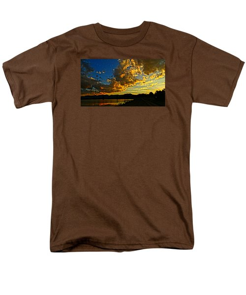 Mountain Colour Men's T-Shirt  (Regular Fit) by Eric Dee