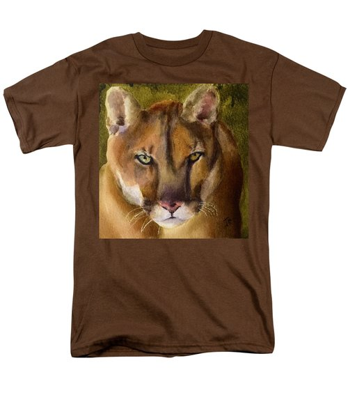 Mountain Lion Men's T-Shirt  (Regular Fit)