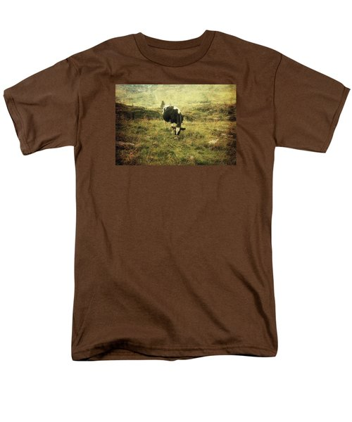 Mountain Pastures  Men's T-Shirt  (Regular Fit) by Vittorio Chiampan