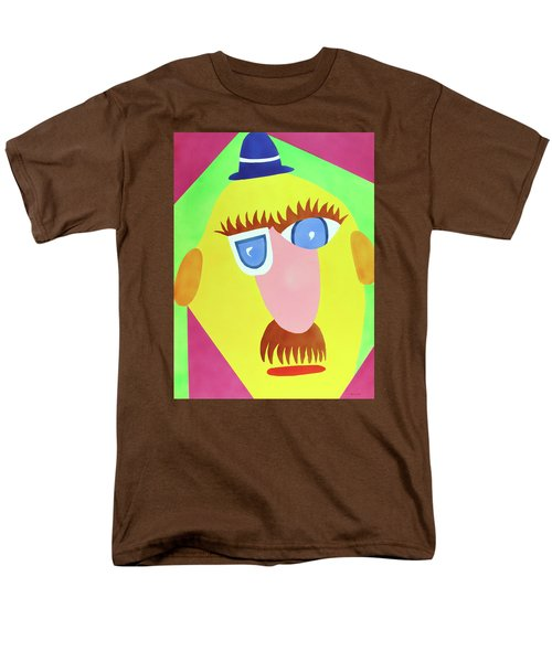 Men's T-Shirt  (Regular Fit) featuring the painting Mr. Strangefellow by Thomas Blood