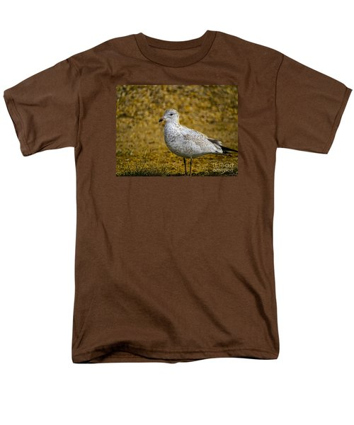 Men's T-Shirt  (Regular Fit) featuring the photograph Mrs. Seagull by Melissa Messick