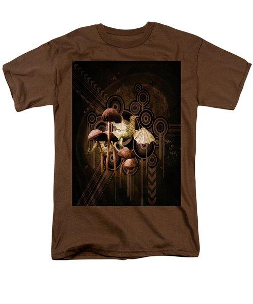 Mushroom Dragon Men's T-Shirt  (Regular Fit)