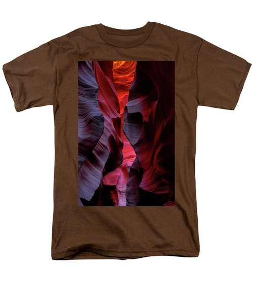 Music, Frozen In The Rocks 5 Men's T-Shirt  (Regular Fit) by Alex Galkin