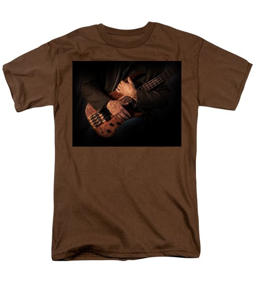 Musician's Hands Men's T-Shirt  (Regular Fit) by David and Carol Kelly