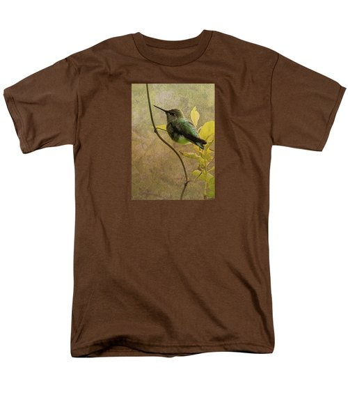 My Greeting For This Day Men's T-Shirt  (Regular Fit) by I'ina Van Lawick