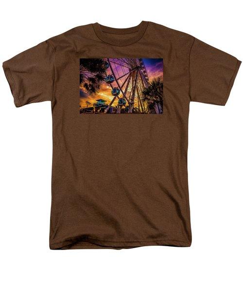 Myrtle Beach Skywheel Men's T-Shirt  (Regular Fit) by David Smith