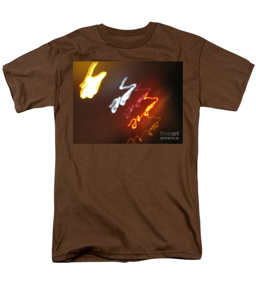 Men's T-Shirt  (Regular Fit) featuring the photograph Mysterious Signature by Ausra Huntington nee Paulauskaite