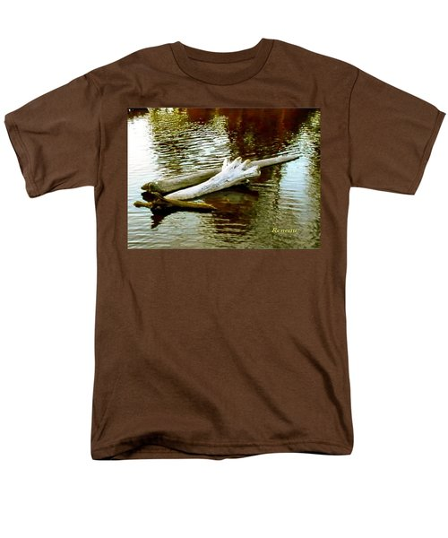 Nailbiting Driftwood Men's T-Shirt  (Regular Fit) by Sadie Reneau