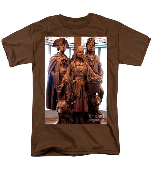 National Museum Of The American Indian 8 Men's T-Shirt  (Regular Fit) by Randall Weidner