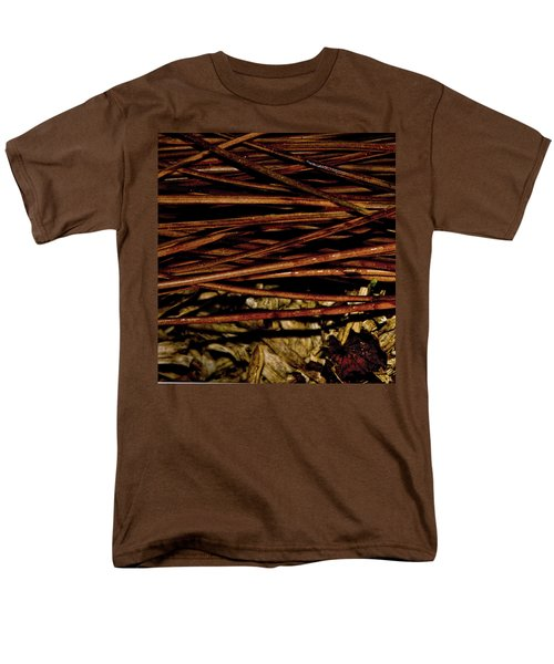 Nature's Lattice Men's T-Shirt  (Regular Fit) by Gina O'Brien