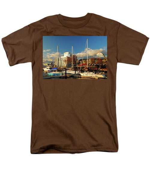 Nautical Norfolk  Men's T-Shirt  (Regular Fit)