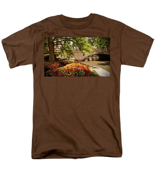 Navarro Street Bridge Men's T-Shirt  (Regular Fit) by Steven Sparks