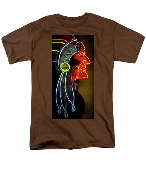 Neon Navajo Men's T-Shirt  (Regular Fit) by David Patterson