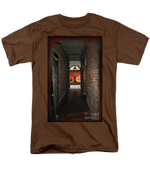 New Orleans Alley Men's T-Shirt  (Regular Fit) by Joan  Minchak