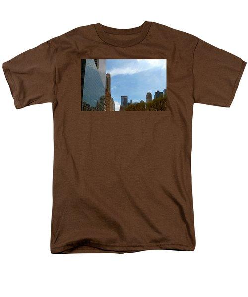 Men's T-Shirt  (Regular Fit) featuring the photograph New York by Helen Haw