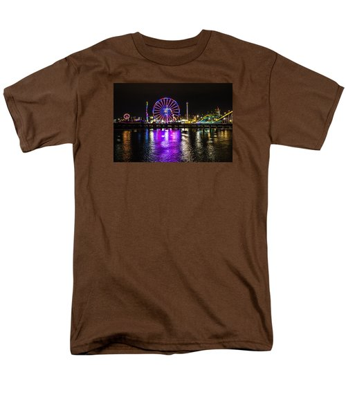 Men's T-Shirt  (Regular Fit) featuring the photograph Night At The Carnival by Randy Bayne