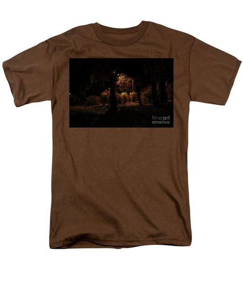 Night In The Park  Men's T-Shirt  (Regular Fit) by Ana Mireles