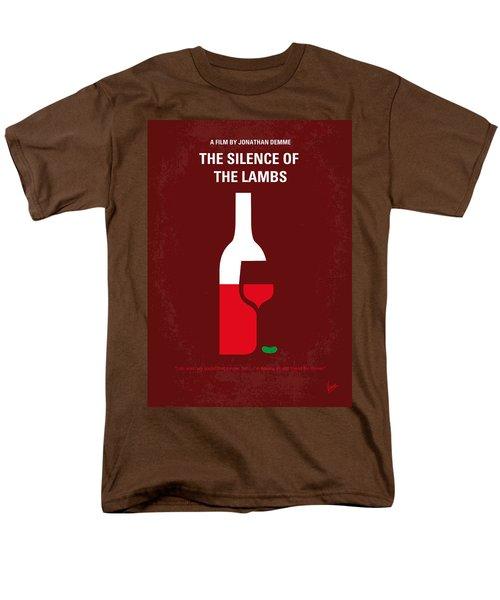 No078 My Silence Of The Lamb Minimal Movie Poster Men's T-Shirt  (Regular Fit)