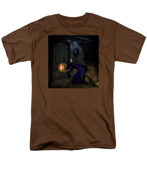 Noise In The Night Men's T-Shirt  (Regular Fit) by Ken Morris