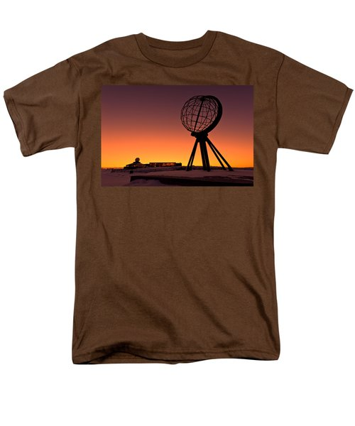 North Cape Norway At The Northernmost Point Of Europe Men's T-Shirt  (Regular Fit) by Ulrich Schade