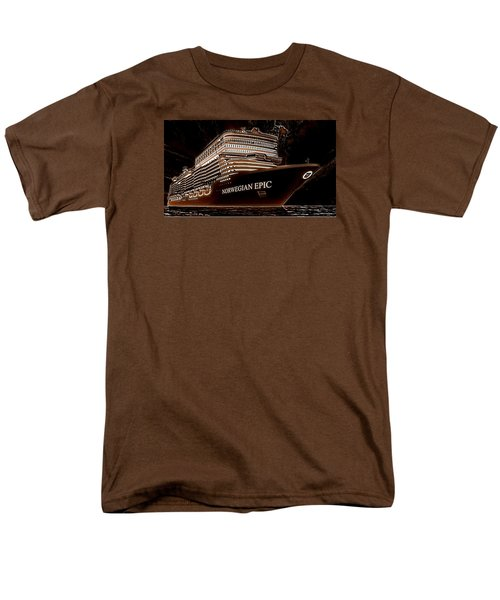 Men's T-Shirt  (Regular Fit) featuring the photograph Norwegian Epic by Mario Carini