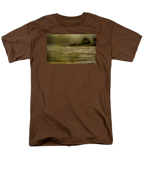 Men's T-Shirt  (Regular Fit) featuring the photograph Nostalgic Morning by Jivko Nakev