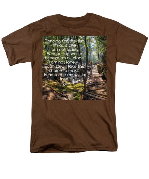 Not Alone Men's T-Shirt  (Regular Fit) by Lisa Piper