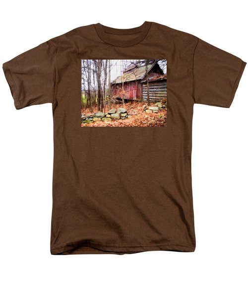 Men's T-Shirt  (Regular Fit) featuring the photograph November Stark by Betsy Zimmerli