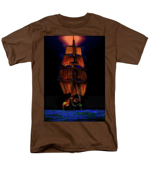 Ocean Glow Men's T-Shirt  (Regular Fit) by Michael Cleere