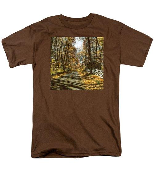 October Backroad Men's T-Shirt  (Regular Fit) by Doug Kreuger