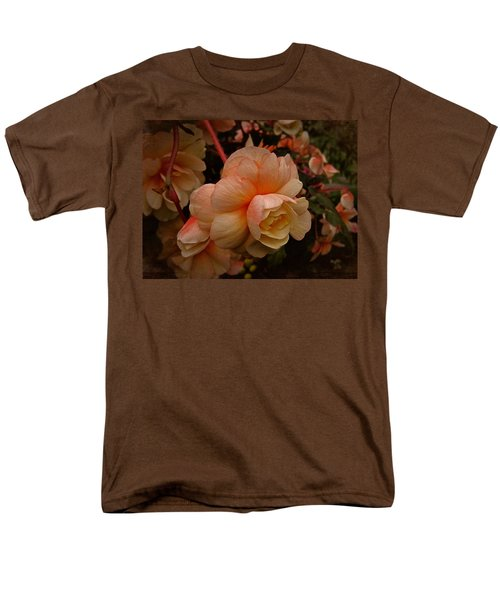 Vintage Begonia No. 2 Men's T-Shirt  (Regular Fit) by Richard Cummings