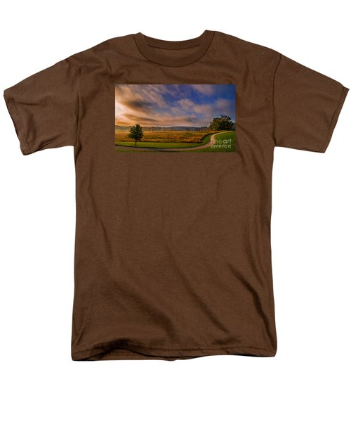 October Morning At Valley Forge Men's T-Shirt  (Regular Fit) by Rima Biswas