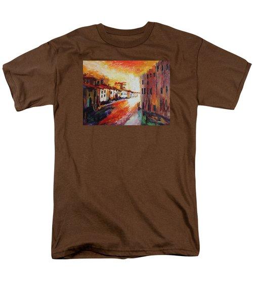 Oil Msc 013 Men's T-Shirt  (Regular Fit) by Mario Sergio Calzi