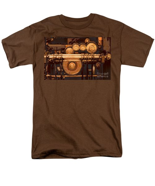 Old Printing Press Men's T-Shirt  (Regular Fit)