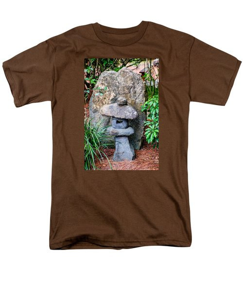 Old Stone Lantern Men's T-Shirt  (Regular Fit) by Louis Ferreira