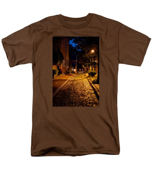 Olde Town Philly Alley Men's T-Shirt  (Regular Fit) by Mark Dodd