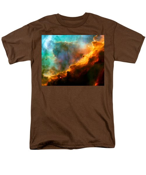 Omega Swan Nebula 3 Men's T-Shirt  (Regular Fit) by Jennifer Rondinelli Reilly - Fine Art Photography