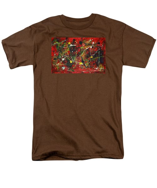 Men's T-Shirt  (Regular Fit) featuring the painting On A High Note by Jacqueline Athmann