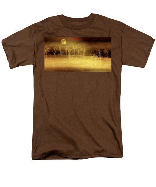 Only At Night Men's T-Shirt  (Regular Fit) by Holly Kempe