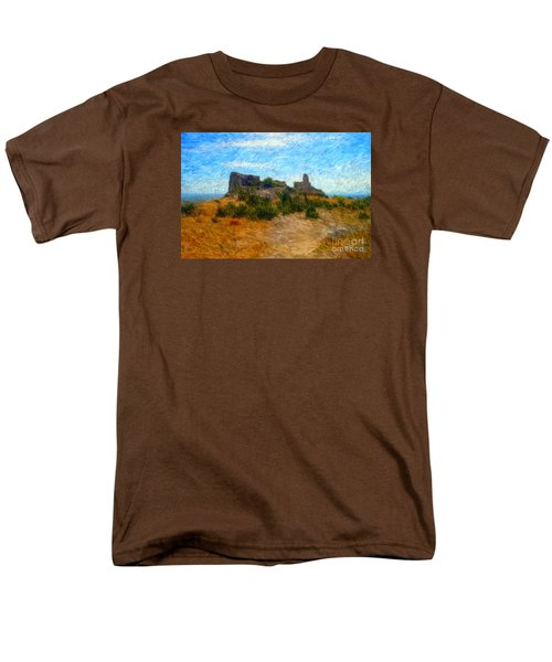 Opoul Castle Ruins II Men's T-Shirt  (Regular Fit)