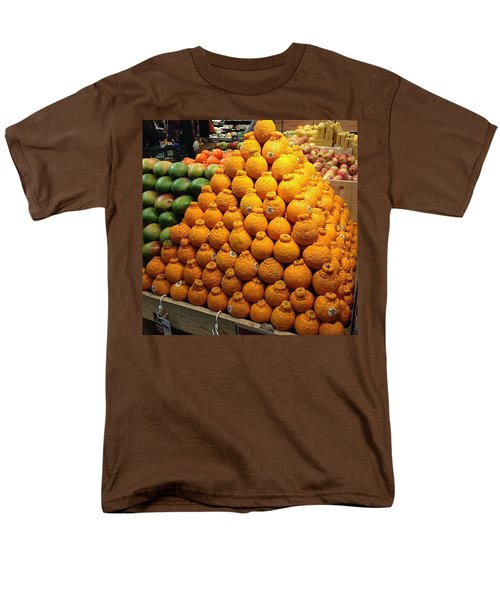 Orange You A Fan Of Terrible Puns? Men's T-Shirt  (Regular Fit) by Kate Arsenault