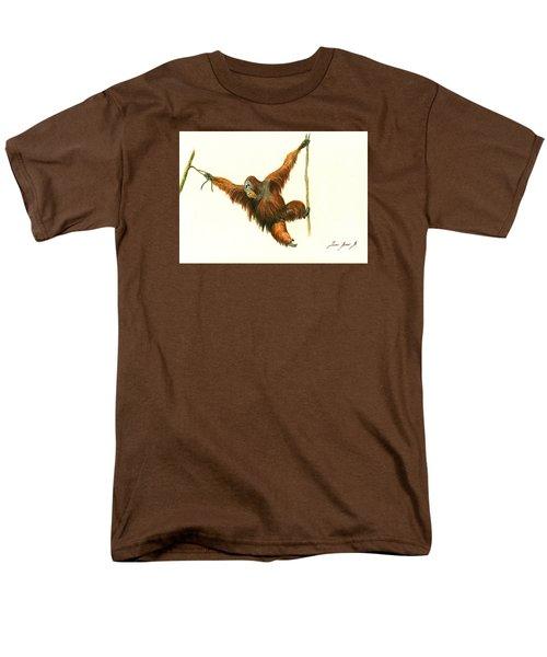 Orangutan Men's T-Shirt  (Regular Fit) by Juan Bosco