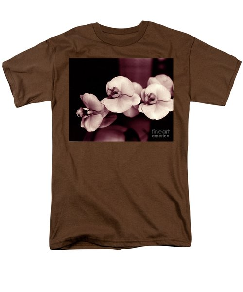 Men's T-Shirt  (Regular Fit) featuring the photograph Orchids Hawaii by Mukta Gupta