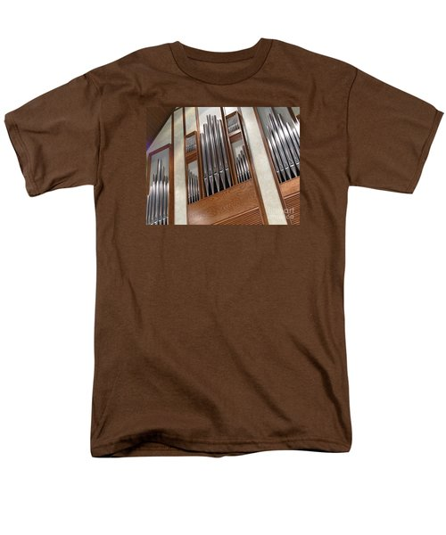 Men's T-Shirt  (Regular Fit) featuring the photograph Organ Pipes by Ann Horn