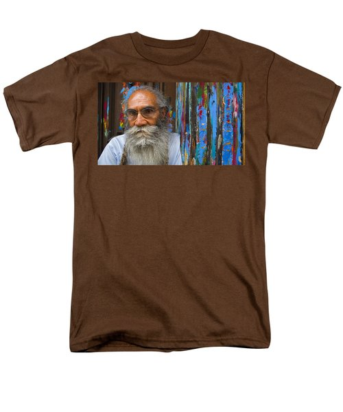 Men's T-Shirt  (Regular Fit) featuring the photograph Orizaba Painter by Skip Hunt