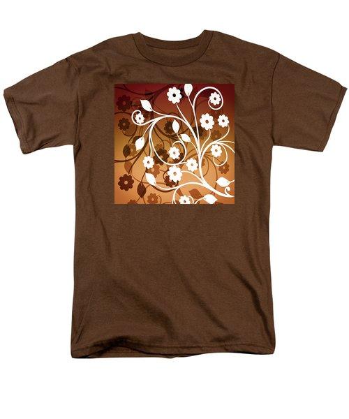 Men's T-Shirt  (Regular Fit) featuring the digital art Ornamental 2 Warm by Angelina Vick