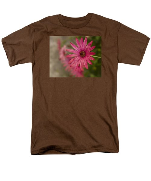Men's T-Shirt  (Regular Fit) featuring the photograph Osteospermum The Cape Daisy by Shirley Mitchell