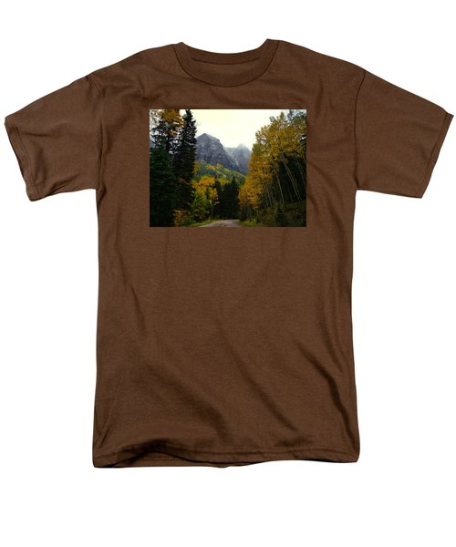 Men's T-Shirt  (Regular Fit) featuring the photograph Ouray Side Trip by Laura Ragland