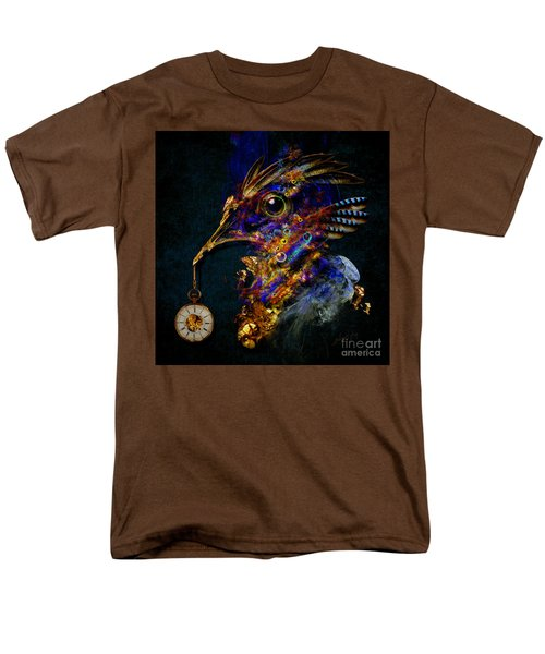 Men's T-Shirt  (Regular Fit) featuring the painting Outside Of Time by Alexa Szlavics