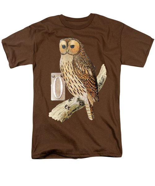 Owl T Shirt Design Men's T-Shirt  (Regular Fit) by Bellesouth Studio